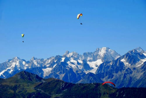 Learn to paraglide