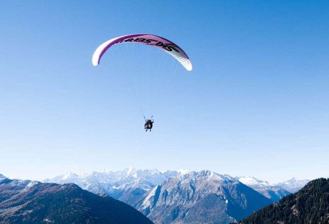 Paragliding coaching Verbier