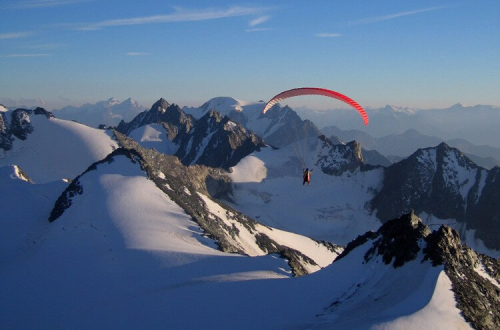 Cross Country Paragliding Course in the Swiss Alps