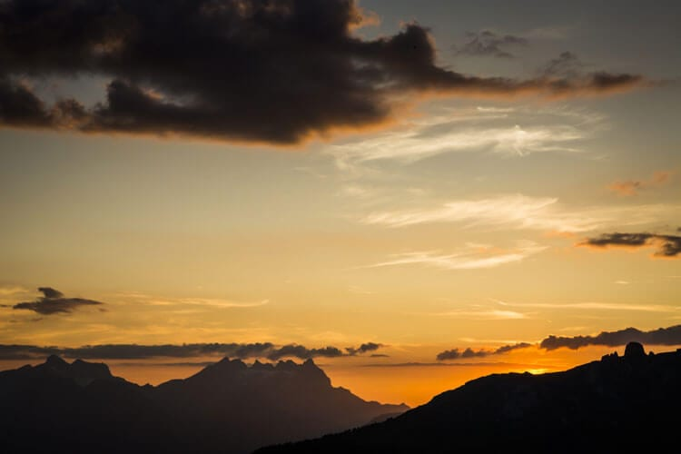 verbier-sunset